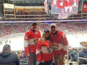 EDWARD attended Arizona Coyotes vs. Florida Panthers - NHL on Feb 25th 2020 via VetTix