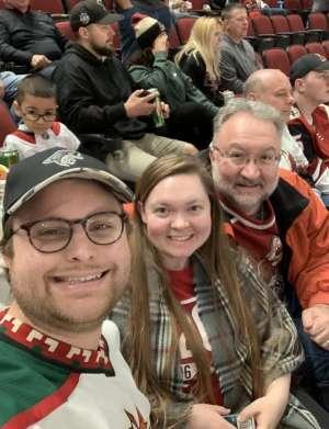 John attended Arizona Coyotes vs. Florida Panthers - NHL on Feb 25th 2020 via VetTix