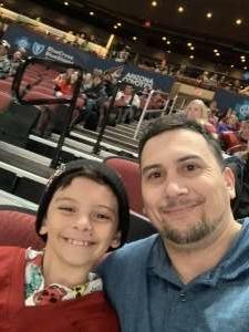 Joshua attended Arizona Coyotes vs. Florida Panthers - NHL on Feb 25th 2020 via VetTix