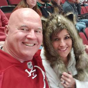 Ken attended Arizona Coyotes vs. Florida Panthers - NHL on Feb 25th 2020 via VetTix