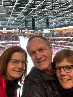Kent attended Arizona Coyotes vs. Florida Panthers - NHL on Feb 25th 2020 via VetTix