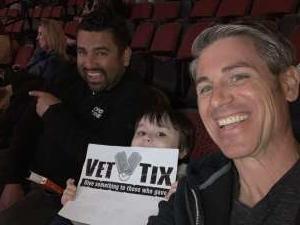Kris attended Arizona Coyotes vs. Florida Panthers - NHL on Feb 25th 2020 via VetTix