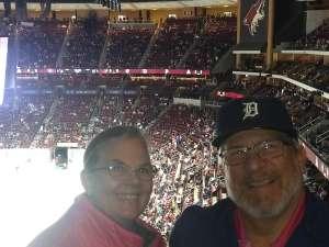 Don attended Arizona Coyotes vs. Florida Panthers - NHL on Feb 25th 2020 via VetTix