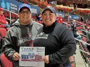Denise attended Arizona Coyotes vs. Florida Panthers - NHL on Feb 25th 2020 via VetTix