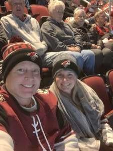 Jeffery attended Arizona Coyotes vs. Florida Panthers - NHL on Feb 25th 2020 via VetTix