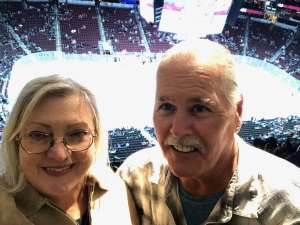 Margaret attended Arizona Coyotes vs. Florida Panthers - NHL on Feb 25th 2020 via VetTix