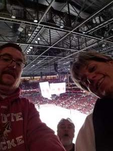 Richard attended Arizona Coyotes vs. Florida Panthers - NHL on Feb 25th 2020 via VetTix