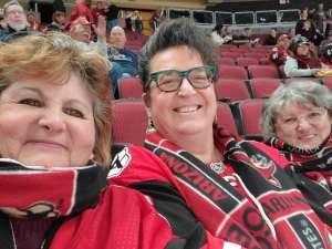 Joe attended Arizona Coyotes vs. Florida Panthers - NHL on Feb 25th 2020 via VetTix