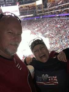 RAYMOND attended Arizona Coyotes vs. Florida Panthers - NHL on Feb 25th 2020 via VetTix