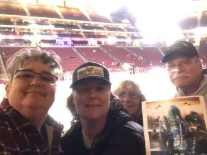 Jen C attended Arizona Coyotes vs. Florida Panthers - NHL on Feb 25th 2020 via VetTix