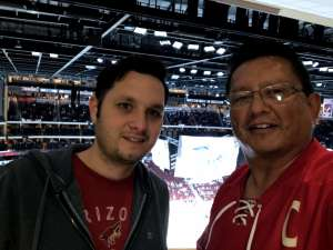 OS1 (SW) Large attended Arizona Coyotes vs. Florida Panthers - NHL on Feb 25th 2020 via VetTix