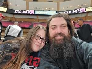 Shawn attended Arizona Coyotes vs. Florida Panthers - NHL on Feb 25th 2020 via VetTix