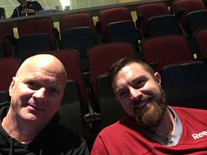 Ray Knox attended Arizona Coyotes vs. Florida Panthers - NHL on Feb 25th 2020 via VetTix
