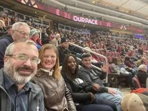 Tyler attended Arizona Coyotes vs. Florida Panthers - NHL on Feb 25th 2020 via VetTix