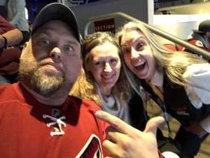 Eddie attended Arizona Coyotes vs. Florida Panthers - NHL on Feb 25th 2020 via VetTix
