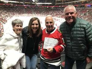 Ron attended Arizona Coyotes vs. Florida Panthers - NHL on Feb 25th 2020 via VetTix