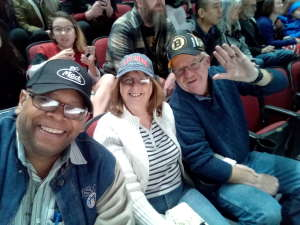 Jamie attended Arizona Coyotes vs. Florida Panthers - NHL on Feb 25th 2020 via VetTix
