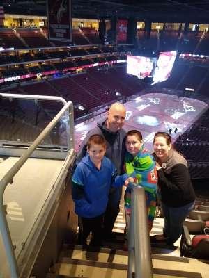 Casey attended Arizona Coyotes vs. Florida Panthers - NHL on Feb 25th 2020 via VetTix