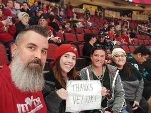 Scott attended Arizona Coyotes vs. Florida Panthers - NHL on Feb 25th 2020 via VetTix