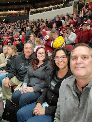 Tony attended Arizona Coyotes vs. Florida Panthers - NHL on Feb 25th 2020 via VetTix