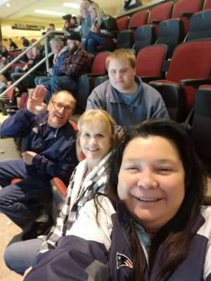 Susie attended Arizona Coyotes vs. Florida Panthers - NHL on Feb 25th 2020 via VetTix