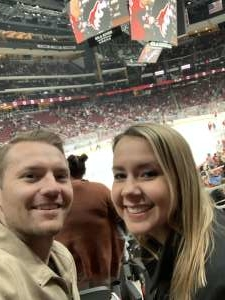 Nicholas attended Arizona Coyotes vs. Florida Panthers - NHL on Feb 25th 2020 via VetTix