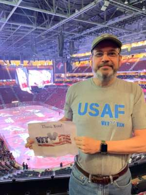 Jeff attended Arizona Coyotes vs. Florida Panthers - NHL on Feb 25th 2020 via VetTix