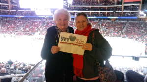 Janet attended Arizona Coyotes vs. Florida Panthers - NHL on Feb 25th 2020 via VetTix