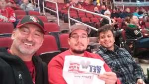 David attended Arizona Coyotes vs. Florida Panthers - NHL on Feb 25th 2020 via VetTix
