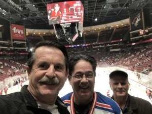 Charles attended Arizona Coyotes vs. Florida Panthers - NHL on Feb 25th 2020 via VetTix