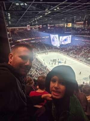 ronald attended Arizona Coyotes vs. Florida Panthers - NHL on Feb 25th 2020 via VetTix