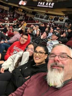 Jason Leon attended Arizona Coyotes vs. Florida Panthers - NHL on Feb 25th 2020 via VetTix