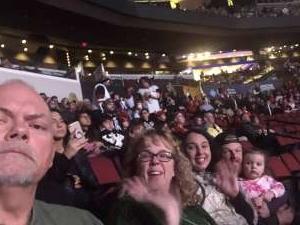 Kirk attended Arizona Coyotes vs. Florida Panthers - NHL on Feb 25th 2020 via VetTix