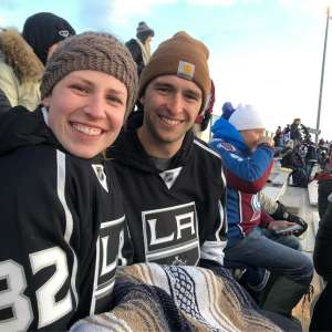 Fletcher attended 2020 Navy Federal Credit Union NHL Stadium Series - Los Angeles Kings vs. Colorado Avalanche on Feb 15th 2020 via VetTix