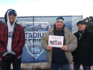 Jeremy attended 2020 Navy Federal Credit Union NHL Stadium Series - Los Angeles Kings vs. Colorado Avalanche on Feb 15th 2020 via VetTix
