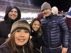 luvelle attended 2020 Navy Federal Credit Union NHL Stadium Series - Los Angeles Kings vs. Colorado Avalanche on Feb 15th 2020 via VetTix