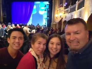 Ruben Torres attended Roald Dahl's Charlie and the Chocolate Factory (touring) on Feb 1st 2020 via VetTix