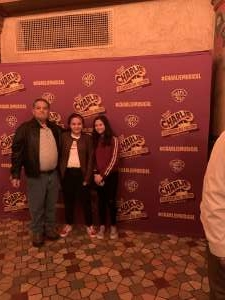 David attended Roald Dahl's Charlie and the Chocolate Factory (touring) on Feb 1st 2020 via VetTix