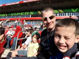 Matt attended Tampa Bay Vipers vs. Houston Roughnecks - XFL on Feb 22nd 2020 via VetTix