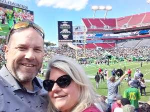 BRETT attended Tampa Bay Vipers vs. Houston Roughnecks - XFL on Feb 22nd 2020 via VetTix