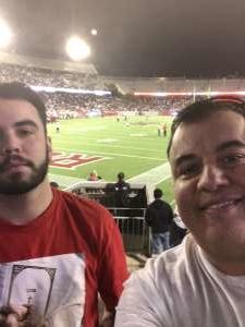 Ruben attended Houston Roughnecks vs. Los Angeles Wildcats - Xfl on Feb 8th 2020 via VetTix