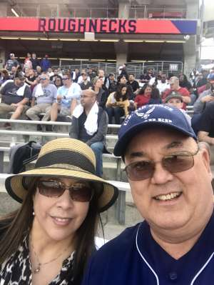 Don attended Houston Roughnecks vs. Los Angeles Wildcats - Xfl on Feb 8th 2020 via VetTix
