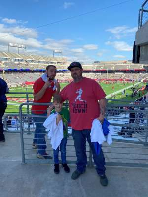 lance attended Houston Roughnecks vs. Los Angeles Wildcats - Xfl on Feb 8th 2020 via VetTix