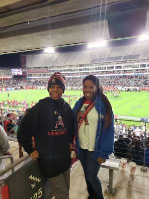 Delrisha attended Houston Roughnecks vs. Los Angeles Wildcats - Xfl on Feb 8th 2020 via VetTix