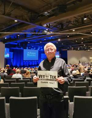 Robert attended John Pizzarelli Trio: Salute to Nat King Cole on Jan 27th 2020 via VetTix