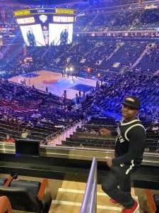 Reon attended New York Knicks vs. Brooklyn Nets - NBA on Jan 26th 2020 via VetTix
