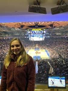 jiahua attended New York Knicks vs. Brooklyn Nets - NBA on Jan 26th 2020 via VetTix