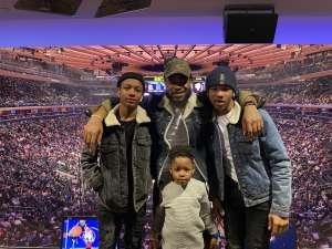 Emanuel attended New York Knicks vs. Brooklyn Nets - NBA on Jan 26th 2020 via VetTix