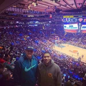 Christopher attended New York Knicks vs. Brooklyn Nets - NBA on Jan 26th 2020 via VetTix
