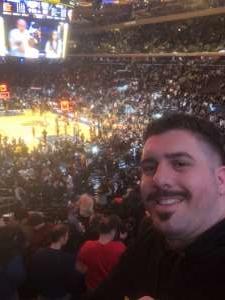 Sir-Andrew attended New York Knicks vs. Brooklyn Nets - NBA on Jan 26th 2020 via VetTix